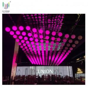 Good Quality Kinetic Lighting - Motor Led Lifting Ball Wholesale Led Lift Ball Kinetic Stage Lights Disco Kinetic Ball Light – Fyl