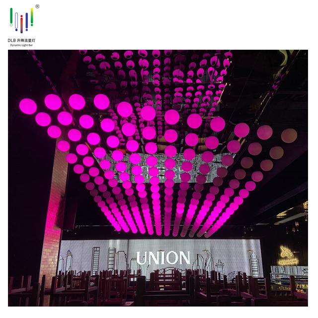 Motor Led Lifting Ball Wholesale Led Lift Ball Kinetic Stage Lights Disco Kinetic Ball Light Featured Image