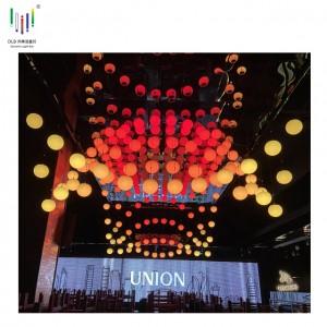 Bottom price Kinetic Lights Winch Price - Kinetic LED Sphere DMX winches lift RGB 3D balls kinetics lighting – Fyl