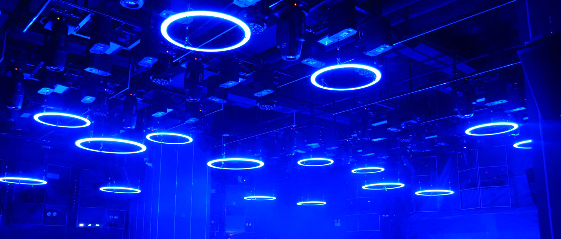 2020 Kinetic LED Ring for club lounge bar project