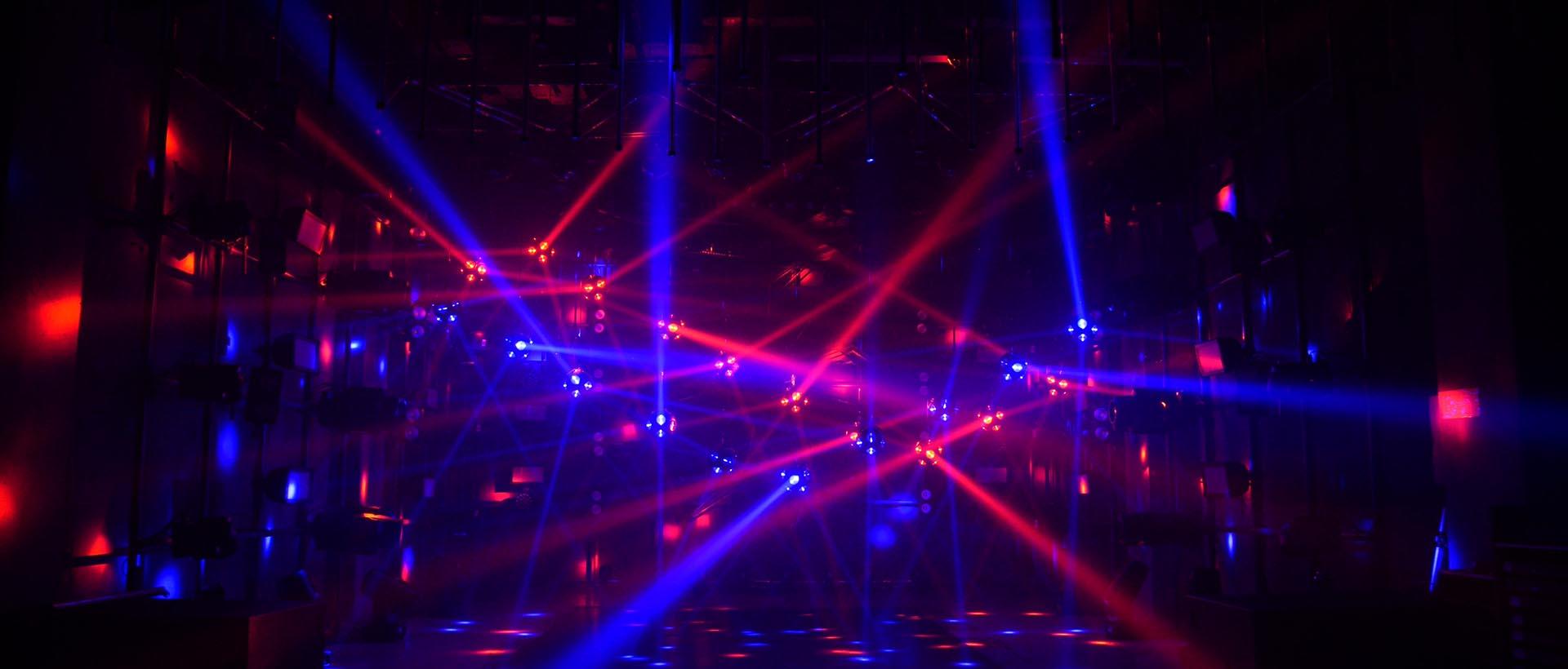2021 Night Club Newest Kinetic Lighting System Kinetic LED football light