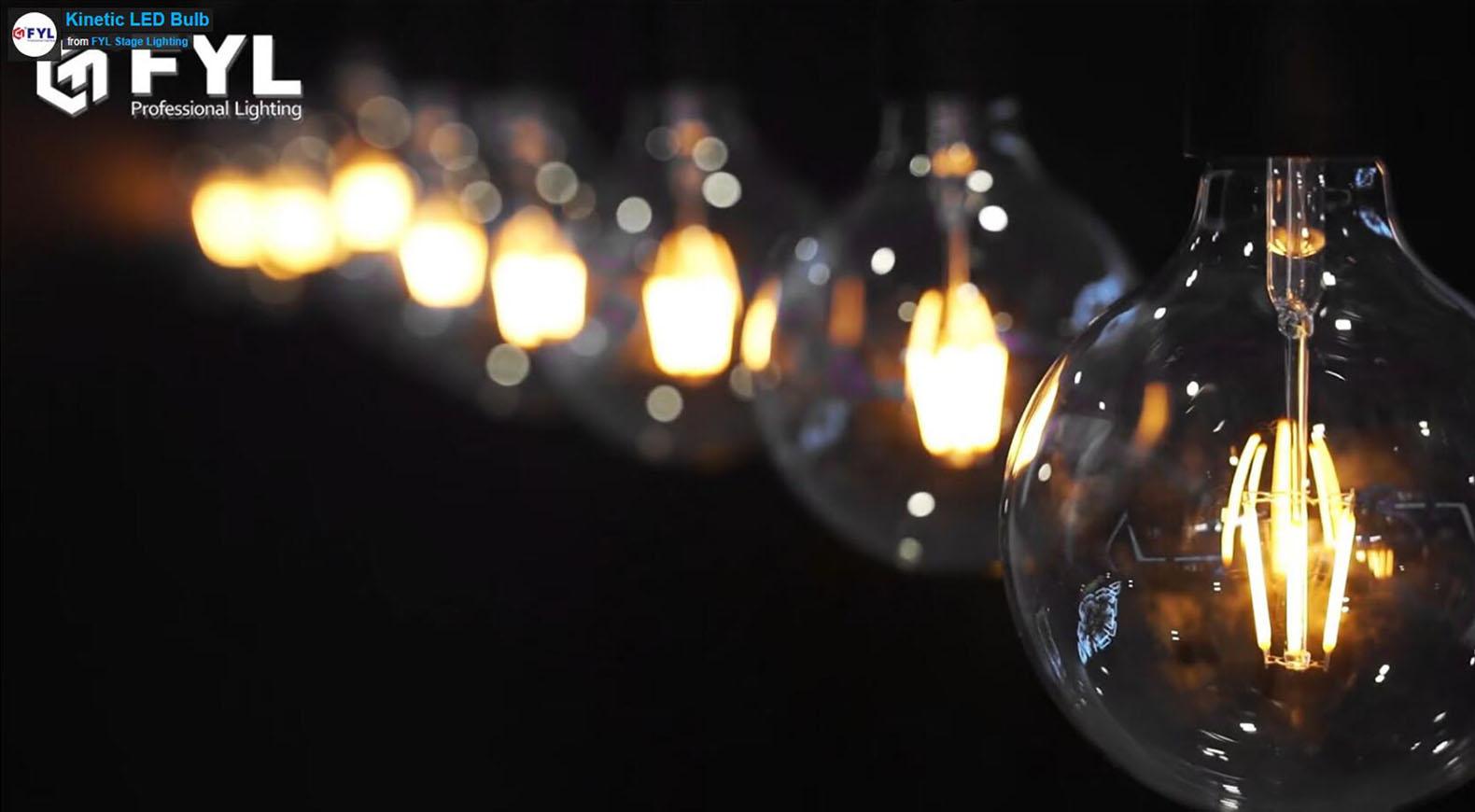 Kinetic LED bulbs