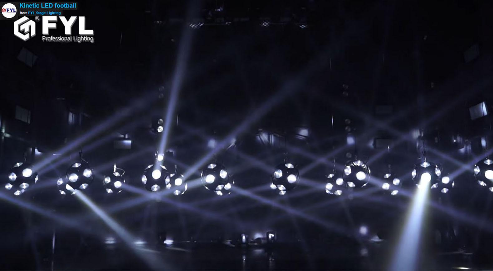 Kinetic LED Football