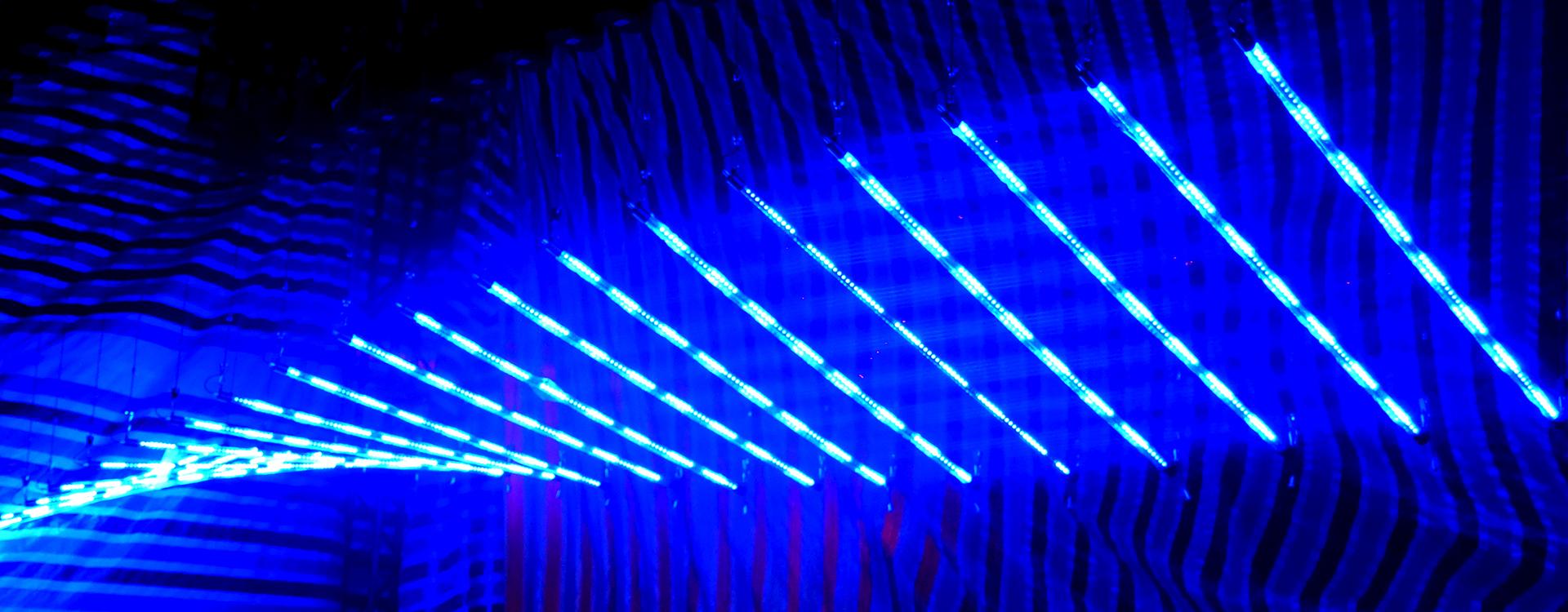 Kinetic LED Pixel Line (4)