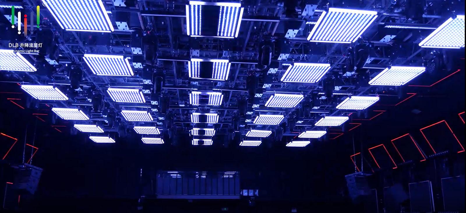 काइनेटिक एलईडी चतुर्भुज प्रकाश (1)