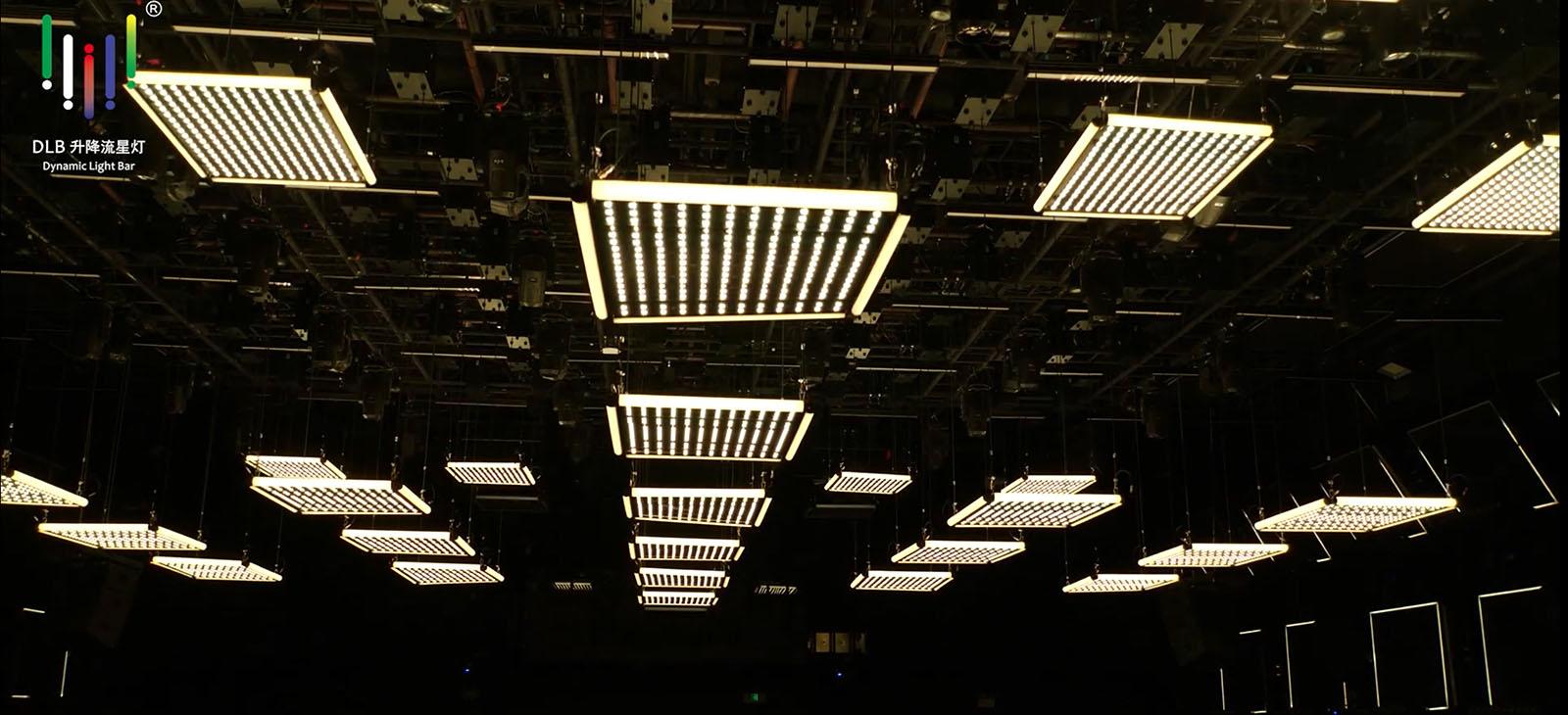 काइनेटिक एलईडी चतुर्भुज प्रकाश (2)