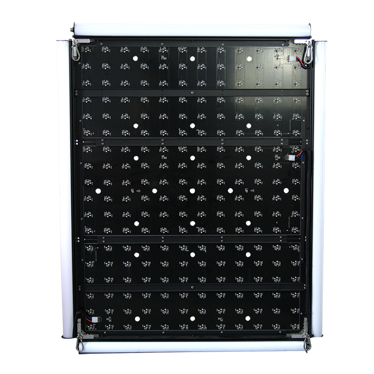 Kinetic LED Quadrilateral light