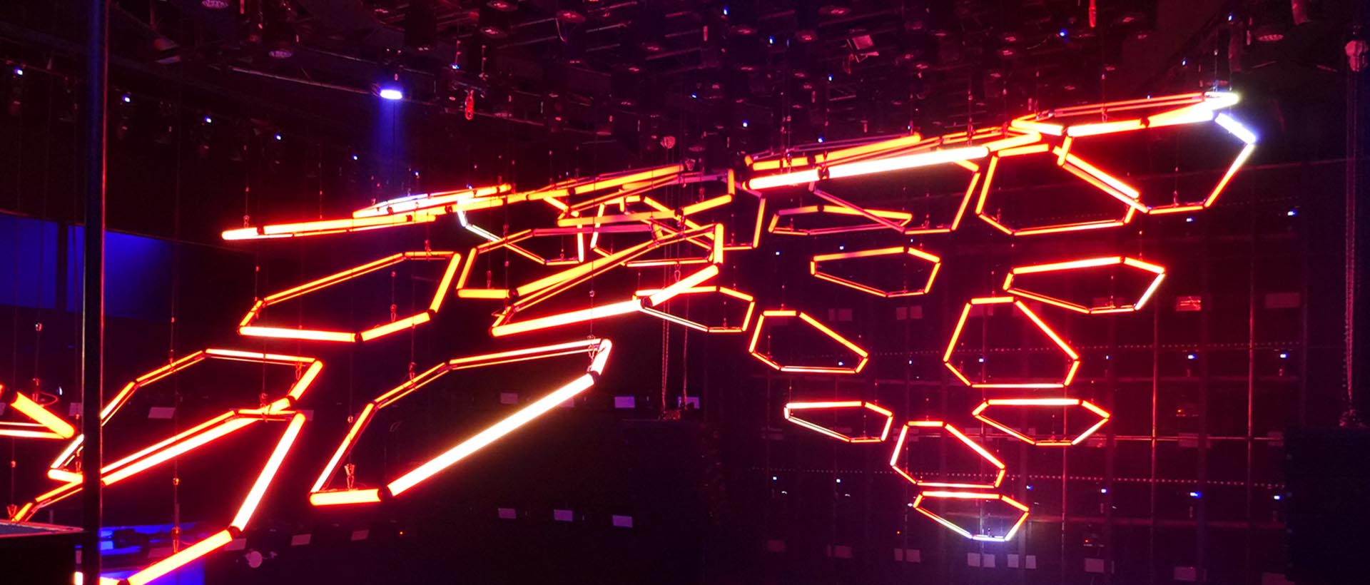 SUPER HOUSE Night club kinetic lighting system Wholesale Kinetic Lighting