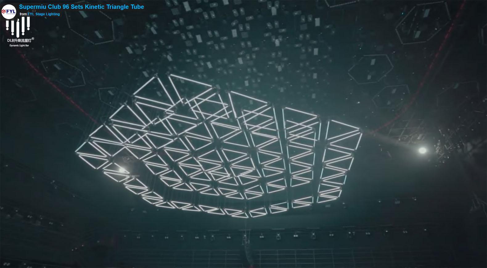 Supermiu Club 96 Sets Kinetic Triangle Tube