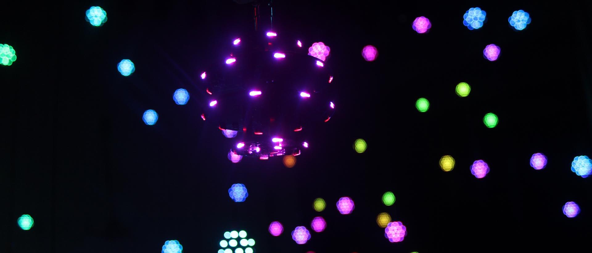 Video show for 100 sets Kinetic LED mini balls