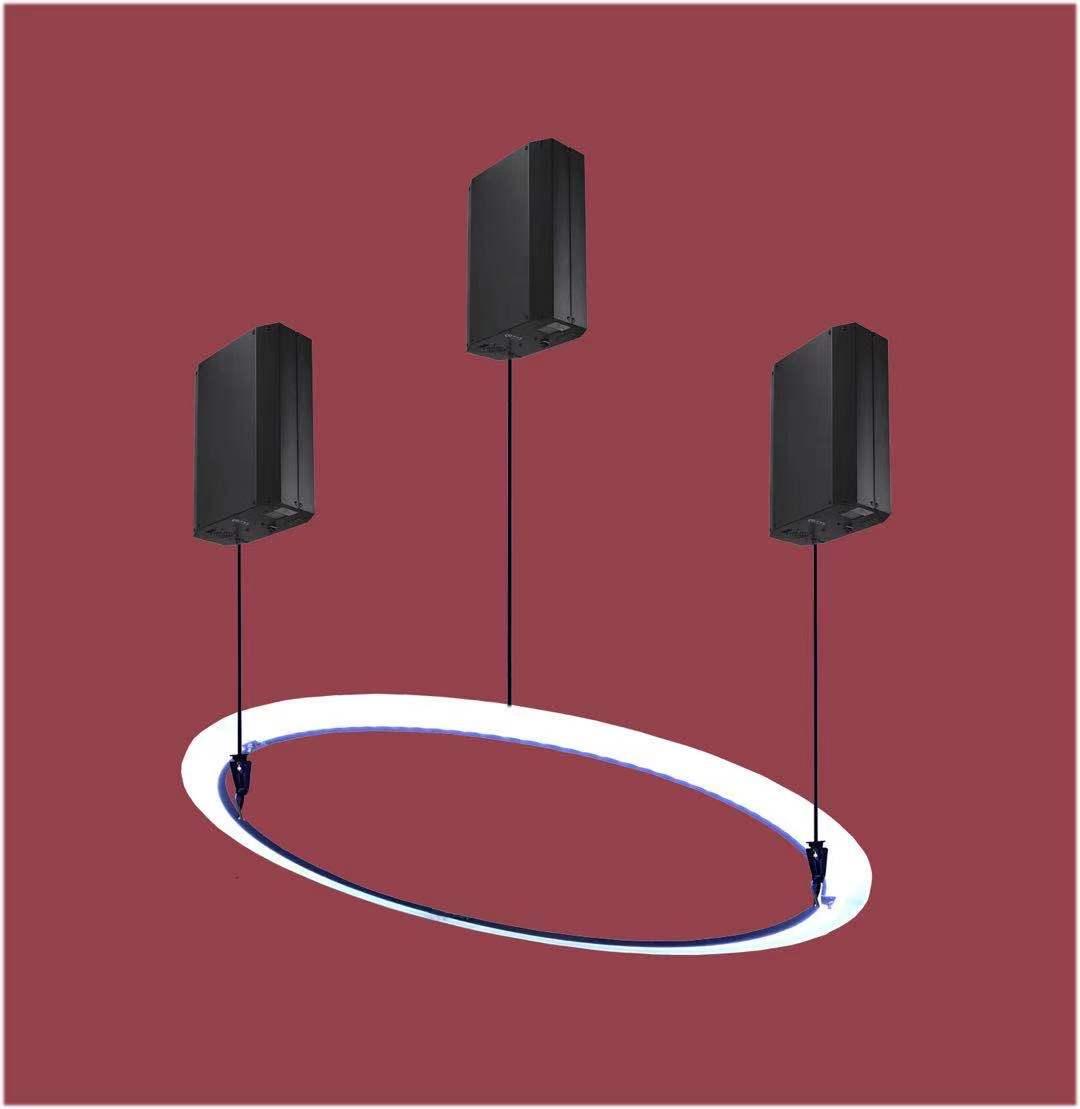 kinetic winch LED lift UFO 1